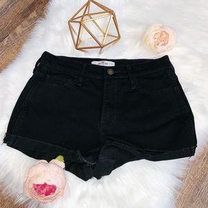 Hollister Black Jean Shorts SIZE 7